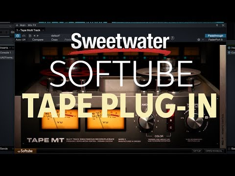 Softube Tape Plug-in Overview with Jeff Mac