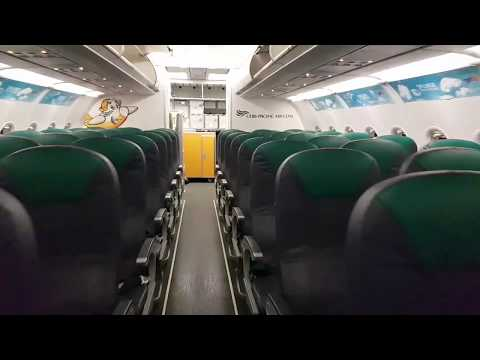 Inside Cebu Pacific Airbus A320