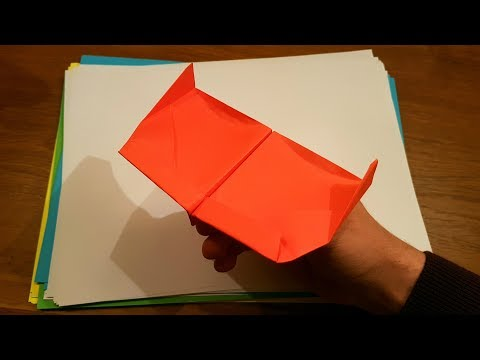 How To Fold a Paper Airplane – Origami Looping Plane | PlaneList red (Tricks)