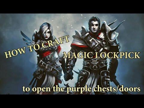 Divinity: Original Sin - How to craft Magical Unlock Scroll/Как скрафтить магическую отмычку
