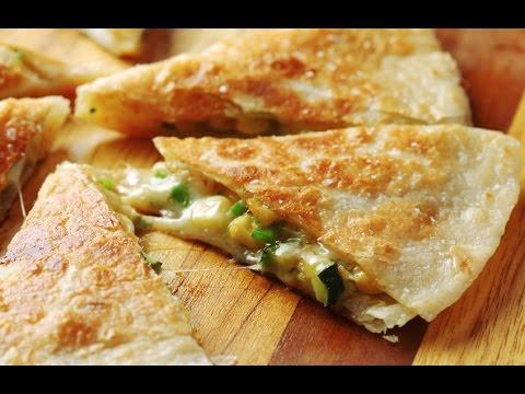Recipe of Corn and Zucchini Quesadillas