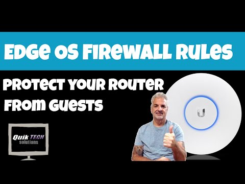 How To Configure Firewall Rules To Protect Your EdgeRouter's Interface