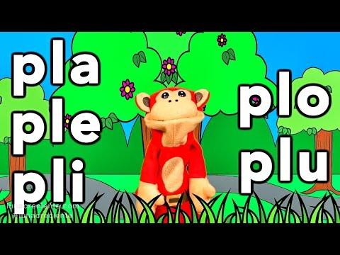 Xxx Mp4 Sílabas Pla Ple Pli Plo Plu El Mono Sílabo Videos Infantiles Educación Para Niños 3gp Sex
