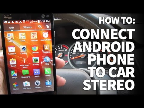How to Connect Android Phone to Car Stereo and Listen to Music on Aux Input