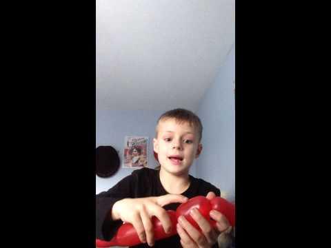 Jim Bo's TV Show - How to make a sausage dog