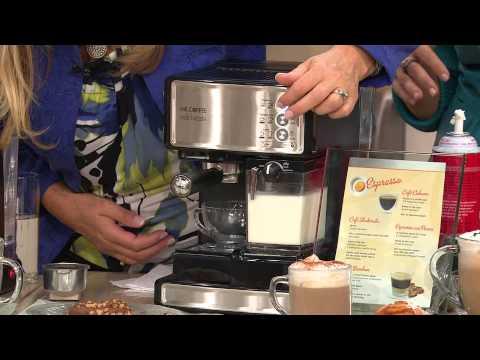 Mr Coffee Cafe Barista Espresso Latte Cappuccino Maker Wgrinder With
