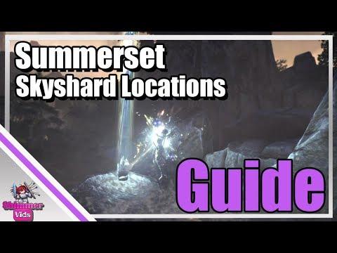 ESO: Summerset Skyshard Locations