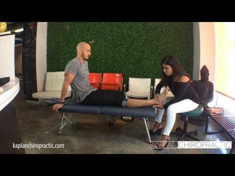 Miami Beach FL Chiropractor Ankle Adjustment Treatment