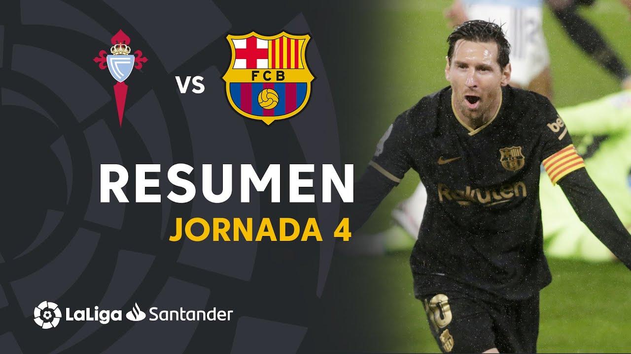 Resumen de RC Celta vs FC Barcelona (0-3)