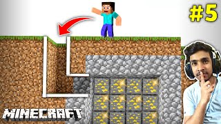 SECRET WAY TO GOLD MINE | MINECRAFT GAMEPLAY #5