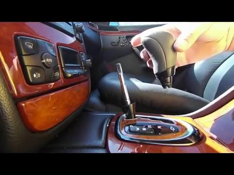How to remove the gear selector shifter knob on any Mercedes-Benz