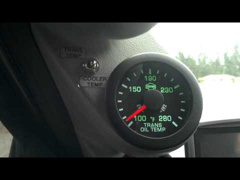 ISSPRO TRANSMISSION TEMPERATURE GAUGE DUAL FEED