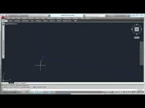 AutoCad 11 - Plotting surveying data for a lot