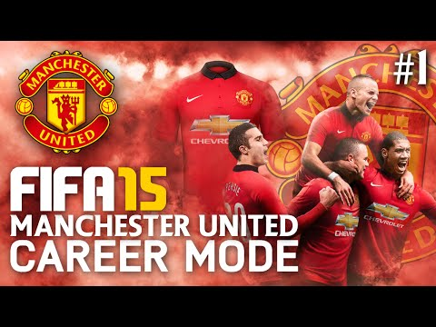 FIFA 15 | Manchester United Career Mode - A NEW UNITED! #1