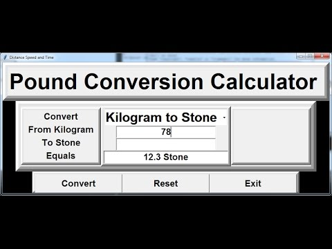 How to Create Pound to Kilogram Conversion Calculator in Python