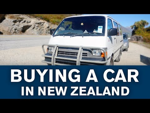How to buy a car in New Zealand! Tips & Tricks - Work&Travel/Backpacking