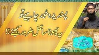 Man Pasand Hoor Paani Hai To Roze Ki Halalt Me Ye Kam Karen | Ramzan | Roza | Paigham TV Official