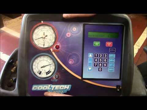 How to recover R134 refrigerant