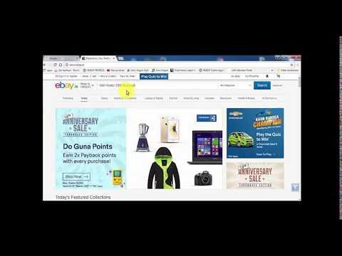Shopping With ebay in Hindi -   Ebay से खरीददारी कैसे करे..??