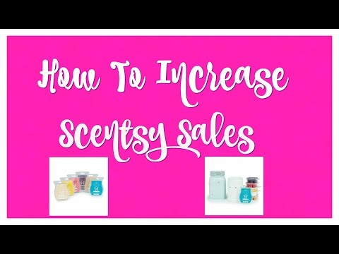 How to Increase Scentsy sales