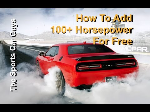 Adding 100+ Horsepower To Any Car For Free
