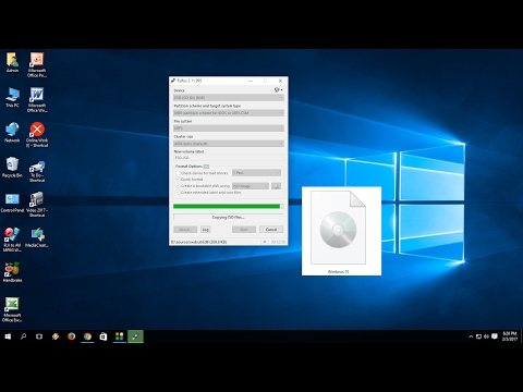 How to Download Windows 10 ISO File & Make Bootable Pen Drive (Easy)