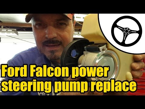 Ford Falcon XR6 power steering pump replacement #1503