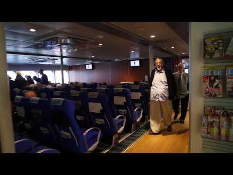 Jersey Condor ferry Guernsey Jersey / Jersey Condor ferry Guernesey Jersey Vue subjective