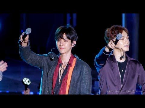 170602 EXO (엑소) 백현 'Heaven (헤븐)' 직캠 @ 화성 월드프렌즈뮤직페스티벌, 화성종합경기타운