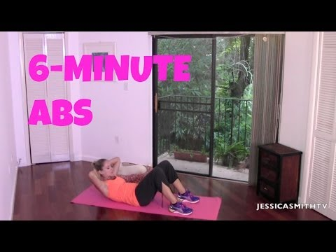 Ab Workout, Flat Abs Fast, Burn Belly Fat: Free Full Length 6-Minute Abs Workout!