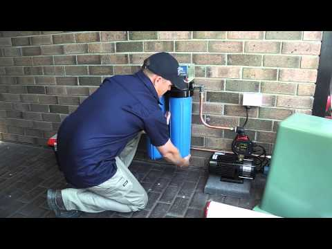 Rainwater Tank Cleaning and Water Filtration