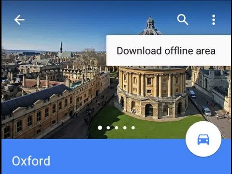 How to download your route on google maps and save it on your SD card for Android Marshmallow phones