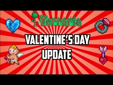 Terraria ios 1.2.4 | Valentine's Day Update!!! (Run up to 1.3) February mobile event 2017