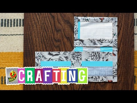 How to Craft a Duct Tape L Wallet
