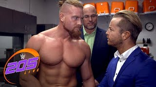 Buddy Murphy has his final weigh-in before his Cruiserweight debut: Exclusive, Feb. 20, 2018