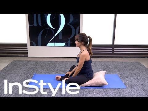 Yoga Poses to Alleviate Nausea (For Expecting Mommies) I InStyle