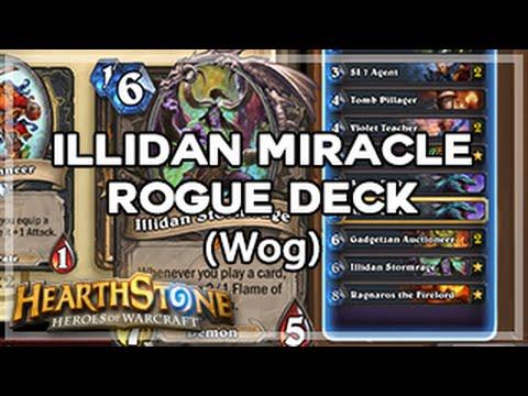 [Hearthstone] Illidan Stormrage WoG Rogue Deck