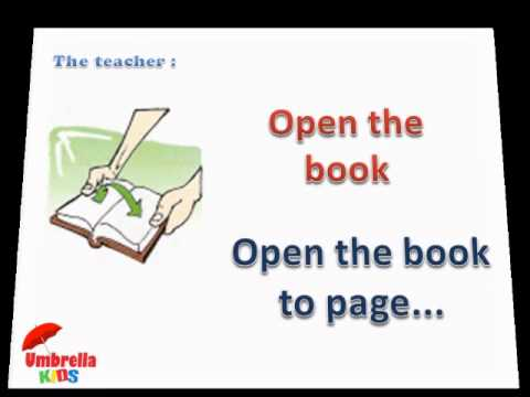 Classroom Language 1 - ESL Lesson