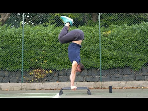 Handstand Drills for Body Awareness