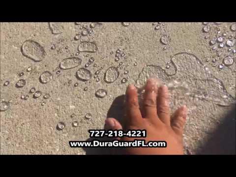 Concrete Sealing Experts - Should you seal your concrete? - Pasco, Hernando, Tampa