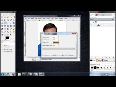 How to Make Frames on Photos in GIMP : Tech Niche