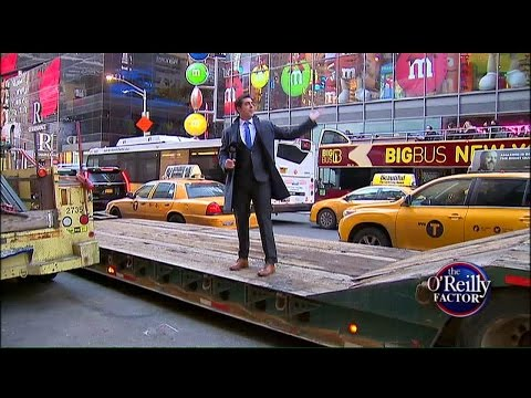 WATCH: Jesse Watters Tries to Solve New York City's Traffic Problem