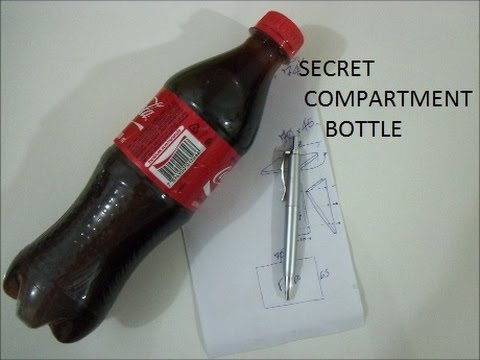 SECRET COMPARTMENT BOTTLE