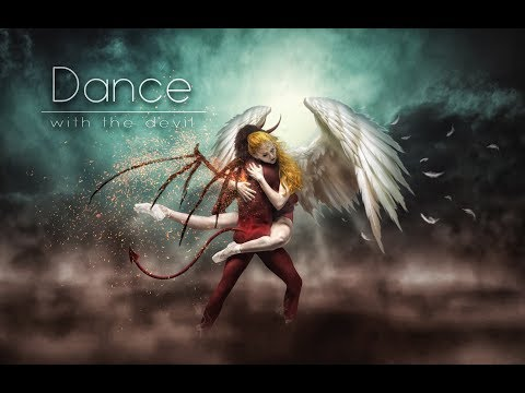 photoshop manipulation - dance with devil (time lapse)