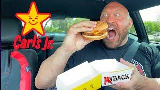 Carls Jr Beyond Meat BBQ Burger Food Review Mukbang - Ryback Its Feeding Time