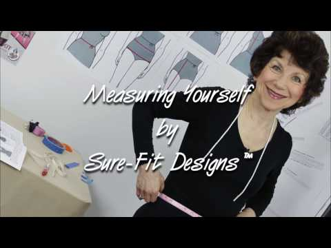 How to Measure Yourself for Good Pattern Fit by Sure Fit Designs