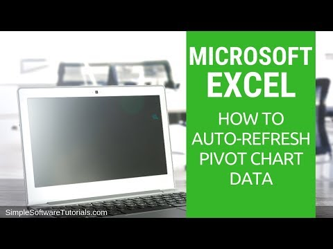 Tutorial: How to Auto-Refresh Pivot Chart Data in Excel 2013