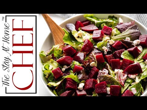 How to Make Beet Salad | The Stay At Home Chef