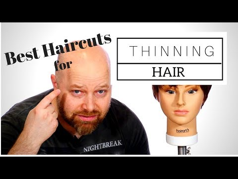 The BEST Haircuts for Thinning Hair - Hair Tips & Tricks - FOR GUYS & GIRLS - TheSalonGuy