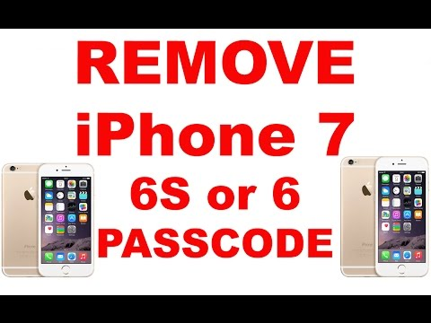 How To Remove Password From iPhone 8 / 7, iPhone 6S, iPhone 6 or iPad